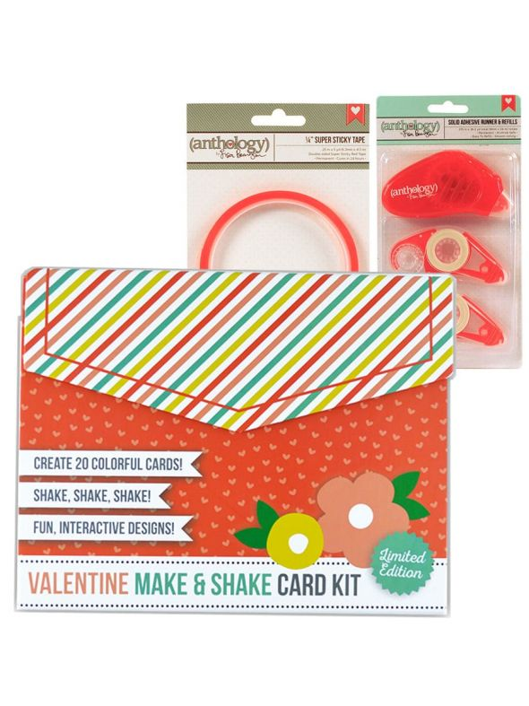 Valentine Card Kit Adhesive Bundle