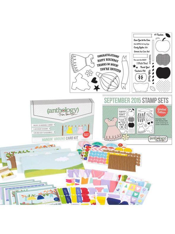 Hangin' Around Card Kit September Stamp Bundle